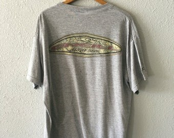 1990's O'Neill Vintage Surfer T Shirt Made in the USA