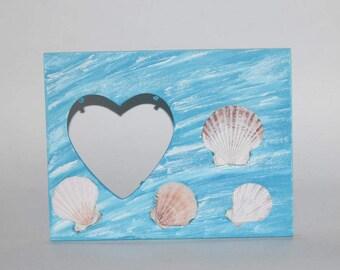 Nautical decor, beach house decor, family photo frame, ocean decor, vacation picture frame, seashore, shore house decor, jersey shore
