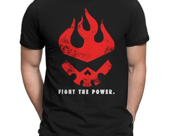 T-shirt Fight the power (gurren lagann)