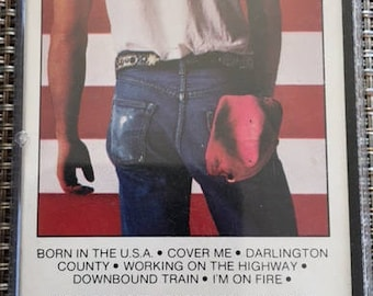 Bruce Springsteen Born In The USA Cassette Tape