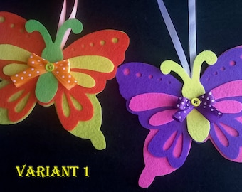 butterflies home decor - butterflies ornaments- Children's room decoration - baby room decoration