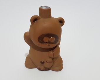 Little Ceramic Tanuki Tokkuri, CecysAsianShop