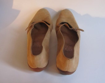 """Vintage Salvatore Ferragamo Brown Women Shoes Size 7""""  Made In Italy Vintage Shoes"""
