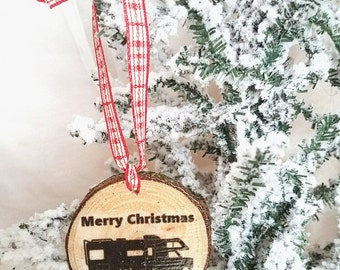 Rustic ornament wood christmas ornament christmas vacation shitters full alone christmas classic funny ornaments handmade ornament