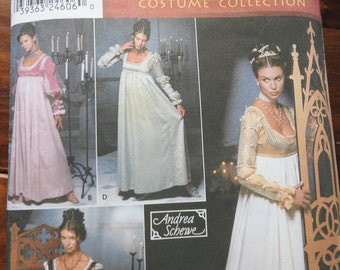 Simplicity 9531 Women's Renaissance Gown Costume Sewing Pattern