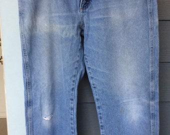 Thrifted vintage Wrangler boyfriend jeans size 11/12