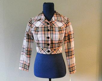 Kelly Arden Deadstock Cropped Jacket/Blazer