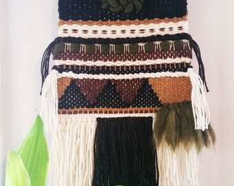 Woven Wall Hanging // Natural // Earthy