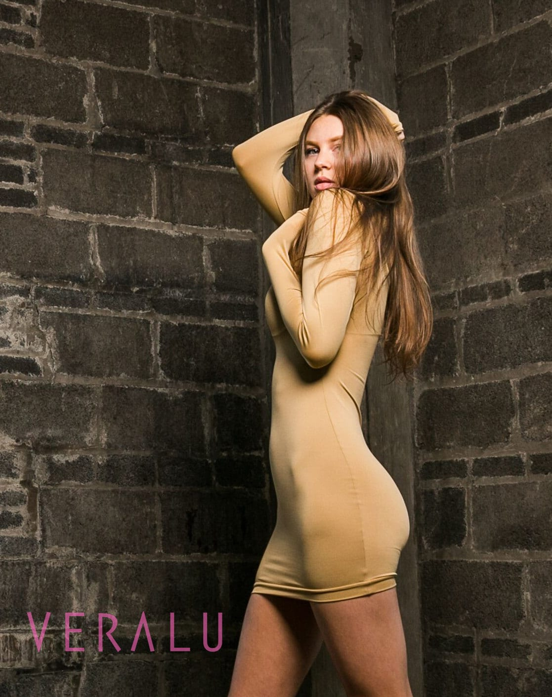VERALU Tan dress
