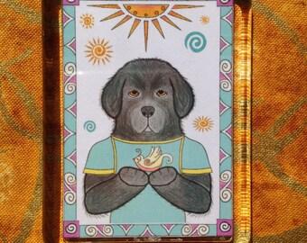 Newfoundland Dog Magnet - Dog Magnet - Newfie Dog Magnet
