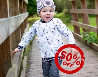 Organic Jumper: Organic Sweater, Organic Sweatshirt, Baby Sweater, Organic Baby Clothes, Toddler Jumper, Christmas Jumper, Polar Bear Jumper
