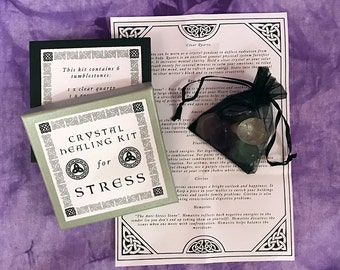 Crystal Healing/Crystals/Crystal Healing Kit/Healing/Crystals/Gift/Love/Stones/Meditation/For Stress