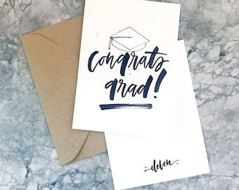 Congrats Grad! Minimalistic Card