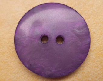 5 purple buttons 23mm (6234)