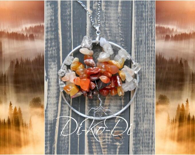 tree necklace tree of life silver tree pendant tree jewelry tree charm tree of life pendant palm tree pendant family tree necklace tree