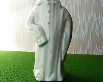 Vintage Royal Worcester Candle Snuffer of a Little Boy - Titled Toddie.