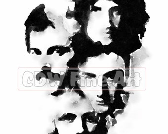 Queen Forever - Limited Edition Print of my original Water Colour Painting