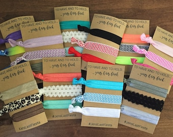 Hair Tie Favor // Bachelorette Party Favor
