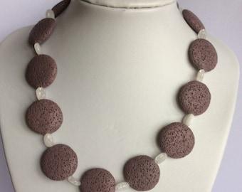 Lava Rock Necklace
