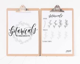 Botanicals Worksheets