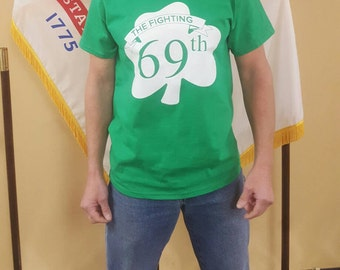St. Patrick's Day - The Fighting 69th - NYC Parade Tee - Irish Brigade