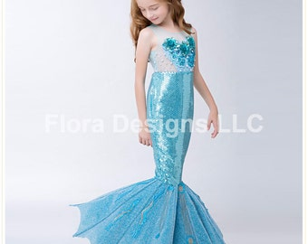 Mermaid dress Mermaid costume mermaid tail