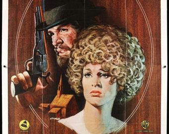 "McCabe & Mrs. Miller (1971) Italian 4 Fogli Poster - 55"" x 78"""
