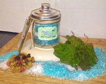 Moon Magick Ritual Bath Salts/ Ritual Bath Soak/ Moon Goddess Divination