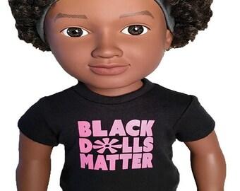18″ doll T-shirt (pink)