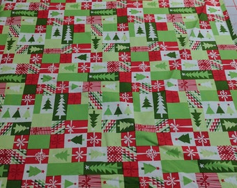 Jingle-Patchwork Cotton Fabric from Moda