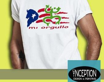 Mi Orgullo Puerto Rican TShirt