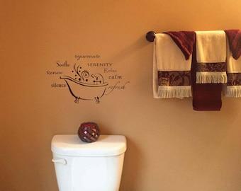 Vintage Bathroom Wall Decor