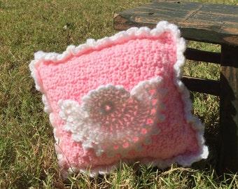 Crochet tooth fairy money holder pillow