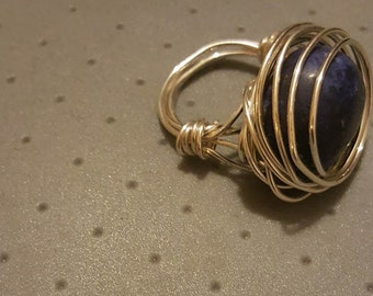 Statement Wire Wrapped Ring