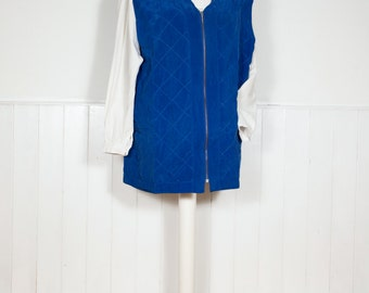 Vintage Quilted Waistcoat