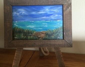 Beach Gaze - Table Art Collection