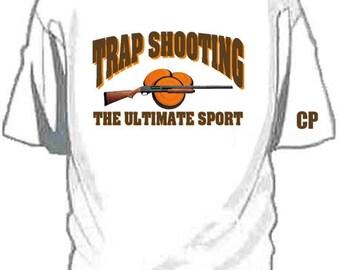 Custom TRAP SHOOTING T shirt