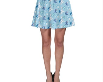 Popplio Skirt - Brionne Skirt Pokemon Skirt Pokemon Sun and Moon Primarina Skirt Plus Size Cosplay Popplio Evolutions Skirt Water Pokemon