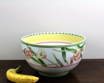 "11"" Large Salad Serving Bowl in Gourmet Garden (Portugal) by Noritake 16.7"
