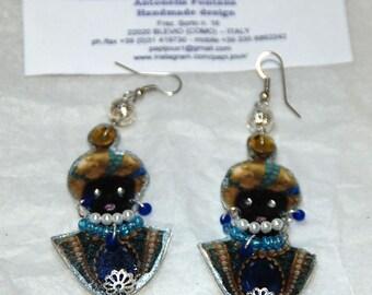Moretti Venetian paper earrings