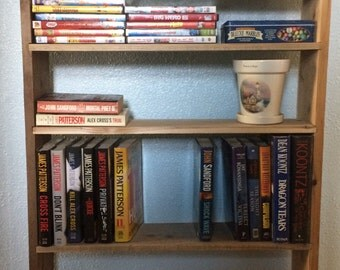 Book case and knick knack shelf