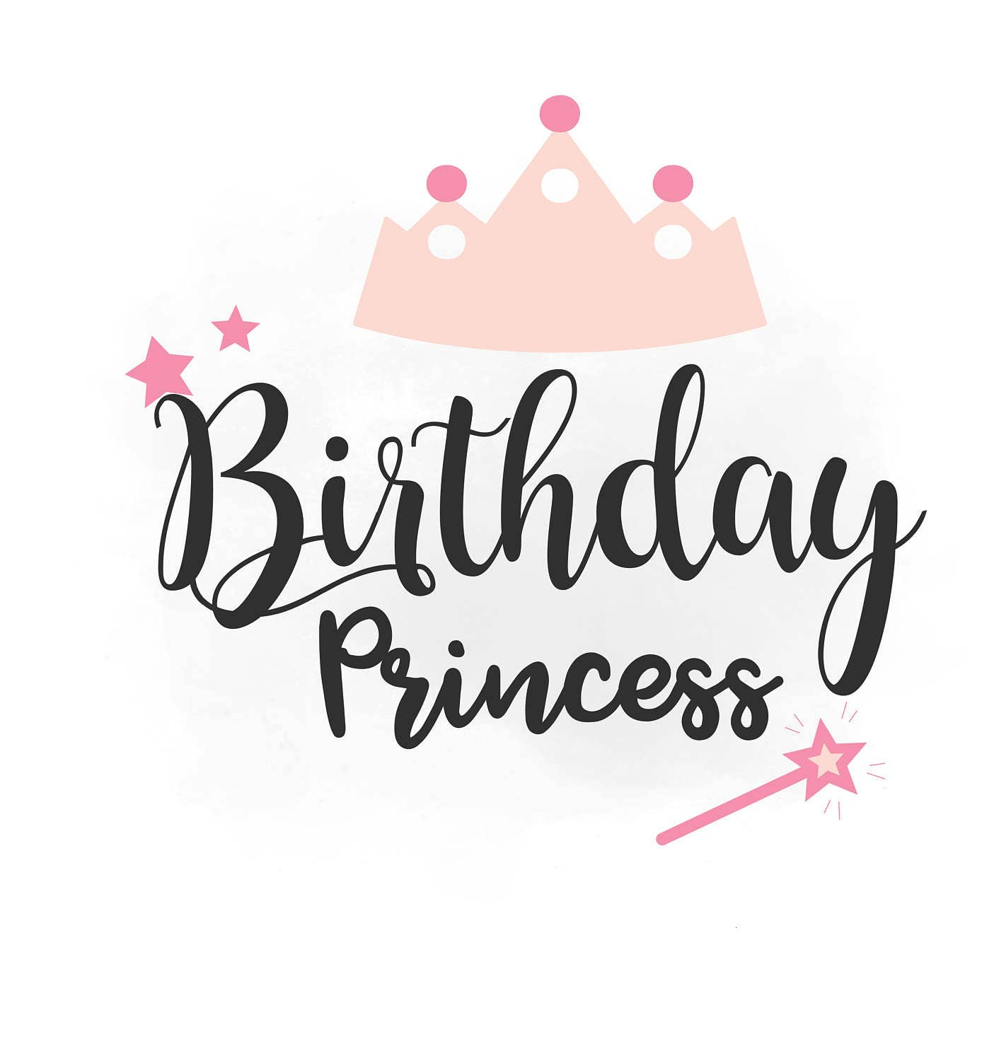 Quotes About A Birthday Girl: Birthday Girl SVG Clipart Birthday Girl Quote Word Art