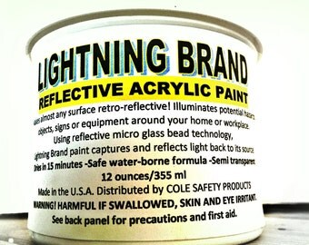 Lightning Brand Reflective Paint 12 oz.