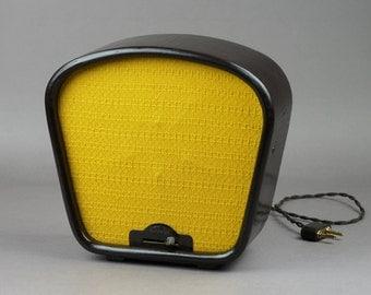 Radio, radio receiver, vintage radio, radio USSR, decor, brown, audio equipment, USSR, old radio, 50s