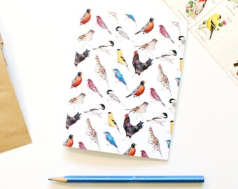 State Birds of the Northeast Greeting Note Card