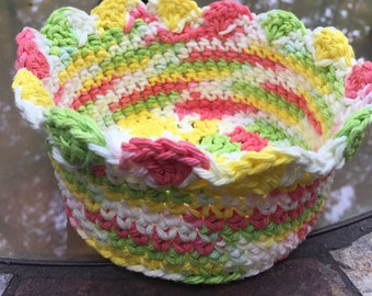 Items Similar To Crochet Fairy Lotus Jewelry Box Ring