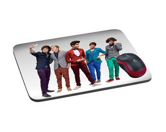 One Direction Mousepad, Personalized mousepad, Custom mousepad