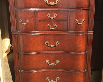 Table Rock/ Drexel Serpentine French Provincial Bedroom Set  1930s