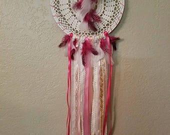 BOHO Pink Dream Catcher