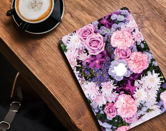 Floral Macbook Decal Floral Macbook Skin Floral Laptop Skin Macbook Skin Floral Vinyl Skin Floral Macbook Decal Macbook Air Skin 044